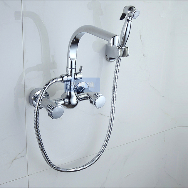 decoration kitchen faucets com with of aursini mount faucet wall sprayer mounted sink