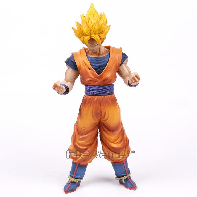 Resolução de Soldados Grandista ROS De Dragon Ball Z Super Saiyan Goku Son Goku PVC Figura Collectible Modelo Toy 31 cm
