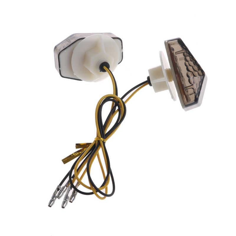 אופנוע LED הפעל הר פלאש אות מחוון נצנץ לסוזוקי GSXR 600 זרוק משלוח