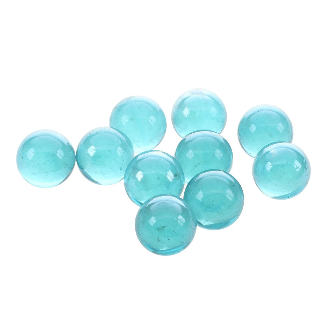 10 Pcs Marbles 16mm Glass Marbles Knicker Glass Balls Decoration Color Nuggets Toy