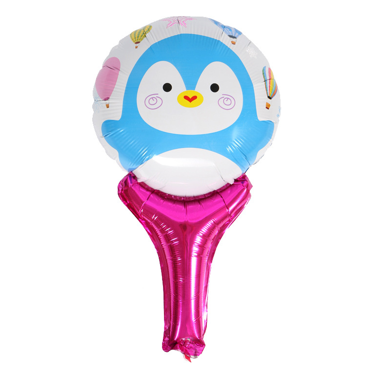 VIPOINT PARTY 51x29cm Penguin Lollipop Foil Balloons 10 Pieces Wedding Event Christmas Halloween Festival Birthday Party HY 324 in Ballons Accessories from Home Garden