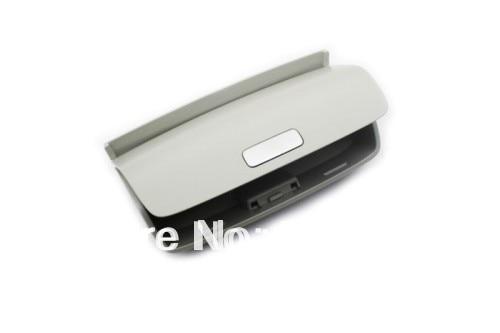 Sunglass Holder With Aluminium Open Button Grey For Volkswagen VW Passat B6 / CC / Tiguan