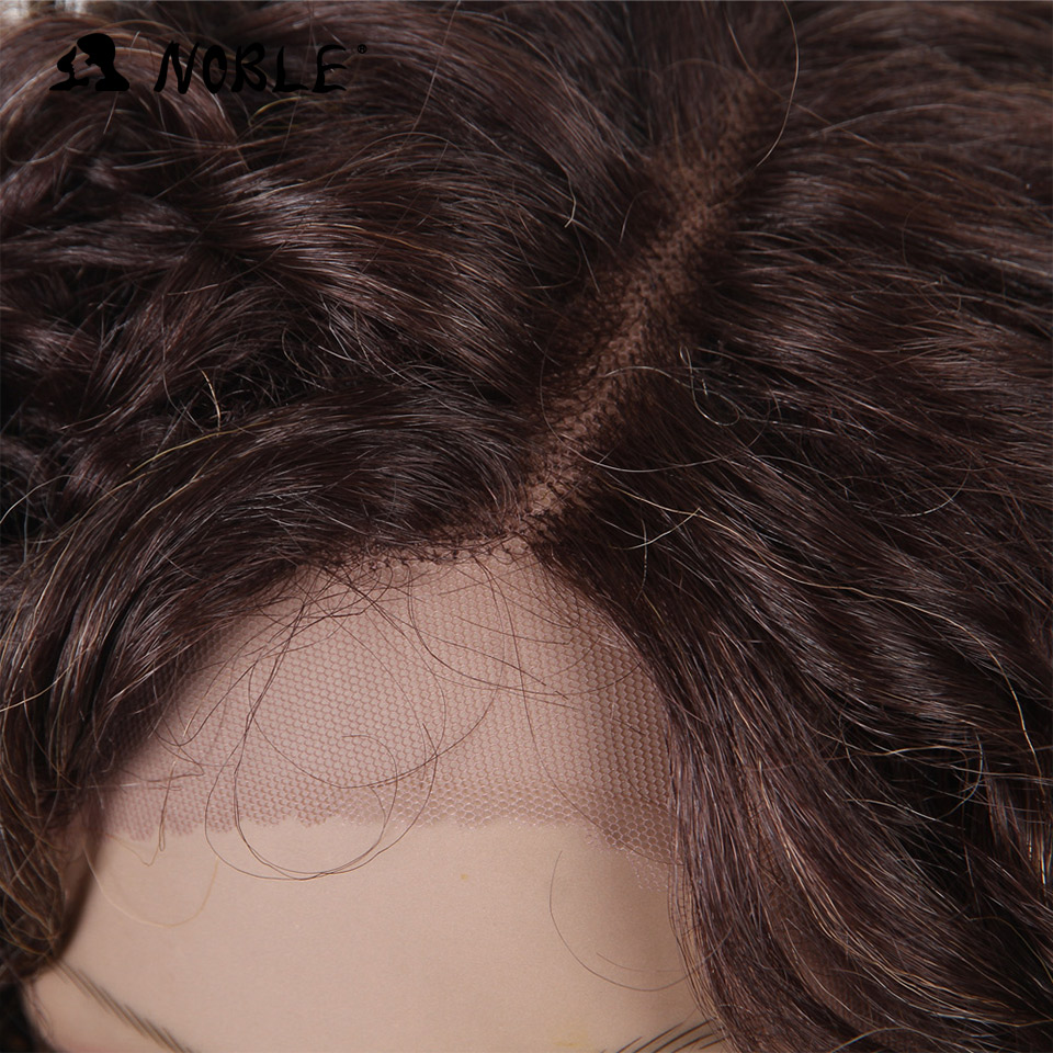 Noble Loose Wave Lace Front Περούκες 26 ιντσών Long - Συνθετικά μαλλιά - Φωτογραφία 4