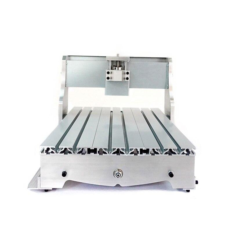 Mini CNC Frame 3040 of engrave Machine for DIY router diy mini cnc wood router machine frame 3040 engrave frame suitable cnc milling machine 3040z dq