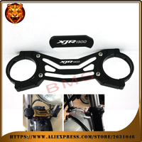 Motorcycle Accessories Aluminum BAlANCE Foreshock FRONT FORK BRACE For YAMAHA XJR 1300 XJR1300 1998 2010 shock new free shipping