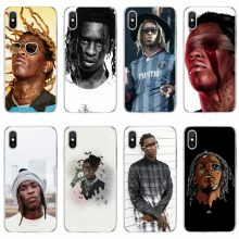 Young Thug Cover Soft Silicone 2018 TPU Phone Case For iPhone 5 5C 5S SE 6 6plus 7 7plus 8 8plus X XS XR XS Max(China)