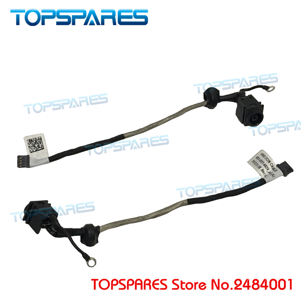 Free shipping NEW Laptop AC DC Power Jack Cable Socket harness connector wire for Sony VPCF2 VPC F2 VPC-F2 V081 603-0001-7376_A storage cable