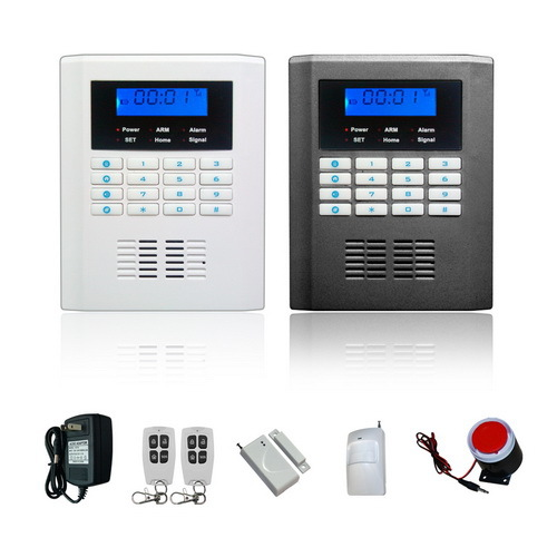 dual band Home security System Wireless SMS GSM Alarm System ,burglar alarm system ,door alarm sensor gsm alarm system for home security system with wired pir door sensor dual antenna burglar alarm home alarm system signaling