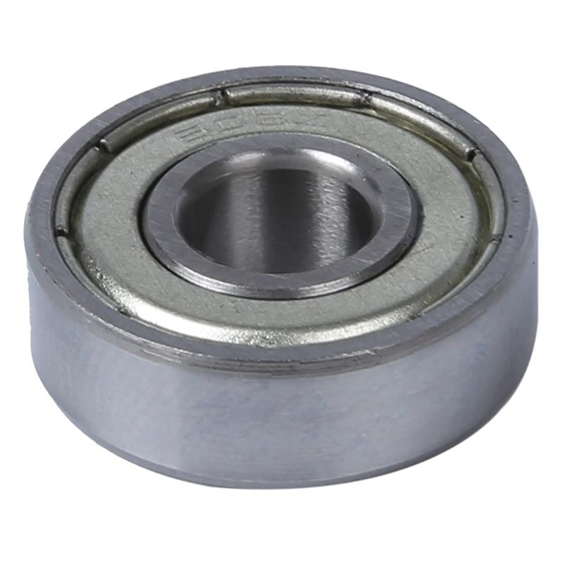 2 Pcs Single Shielded 608Z Miniature Deep Groove Ball Bearings