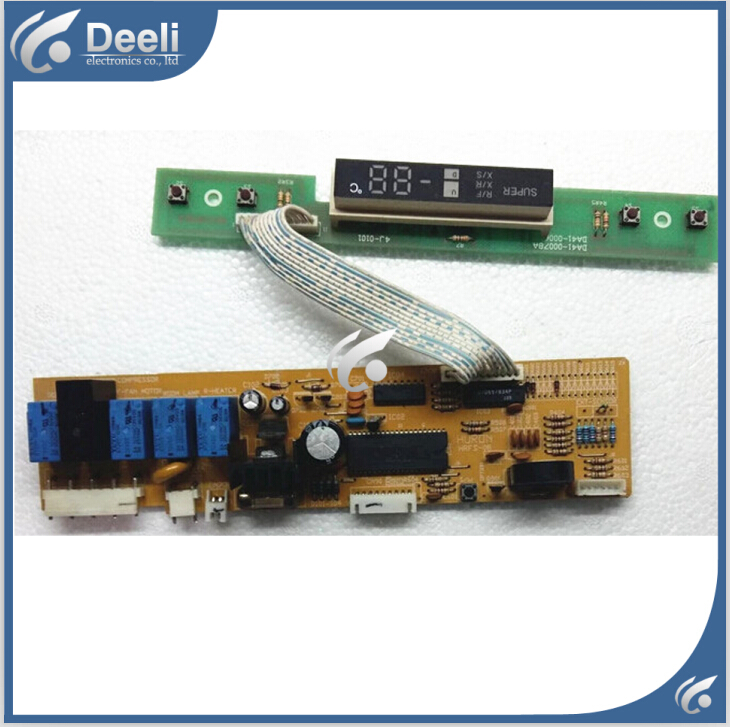 92% new good working refrigerator pc board motherboard BCD-210W /208/213 HRFS-08 DA41-00078A/00065A Display panel 95% new original good working refrigerator pc board motherboard for samsung rs21j board da41 00185v da41 00388d series on sale