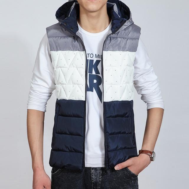 YG6159-6  Cheap wholesale 2016 new Fashion cotton vest vest male cultivate one's morality leisure feather couples cotton vest