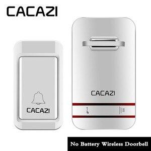 Image 2 - New Home Welcome Doorbell Intelligent Wireless Doorbell Waterproof 300M Remote EU AU UK US Plug smart Door Bell Chime