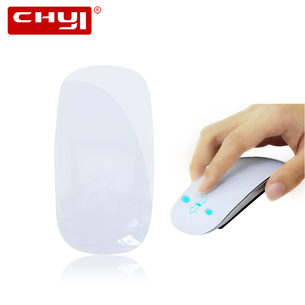 цены Slim Silent Touch USB Wireless Mouse for Mac Apple Laptop PC Microsoft Windows Computer Mice 1200 DPI 2.4G Ergonomic Magic Mouse