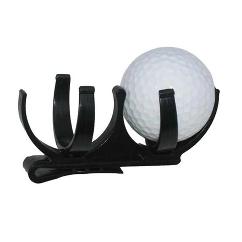 New Golf Clip Golf Ball Holder Clip Organizer Golfer Golfing Sporting Training Tool Accessory Free Shipping