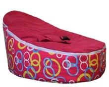 Saco de feijão bebê vermelho/saco de cama de bebé/bebê saco de dormir-preço de promoção crianças cinto de segurança do saco de feijão cadeiras