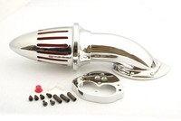 For Kawasaki Vulcan 1500/1600 Classic Fuel Injected Only 2000 UP Chrome Air Cleaner Kit intake filter