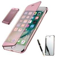 Флип бампер чехол для iPhone 5 5S SE 6s 6s 7 8 плюс iPhone X 10 6 Plus 6s плюс 7 плюс 8 плюс Роскошный Силиконовые Мягкий Прозрачный чехол