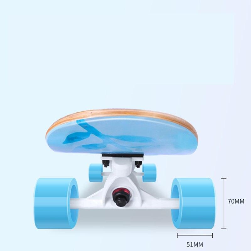 Professionnel de Planche À Roulettes D'érable Canadienne Lonboard planche de skate 4 Roue Descente Rue De Danse Conseil de La Dérive de Rouleau-conseil 107 & 117 CM - 4