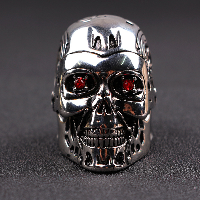 Кольцо Терминатор металлическое 4