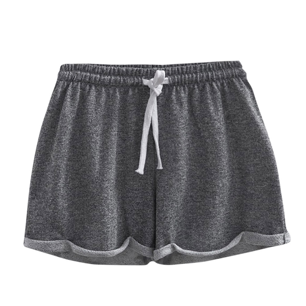 Clothing - Solid Casual Fitness Shorts