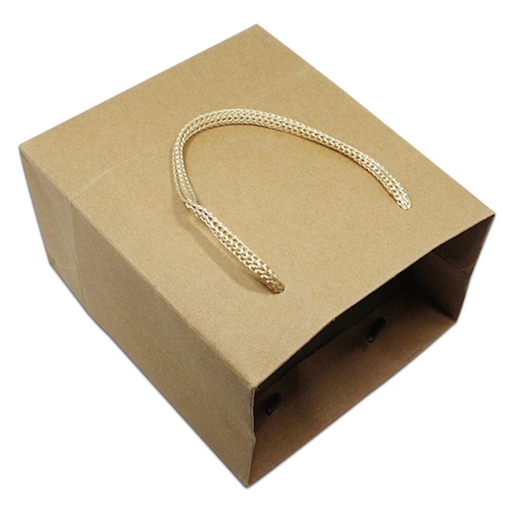 DHL, крафт бумага, Рождественский новогодний кошелек для покупок, сумка с ручками для свадебной вечеринки, подарок на день рождения, комплект одежды, мешочек