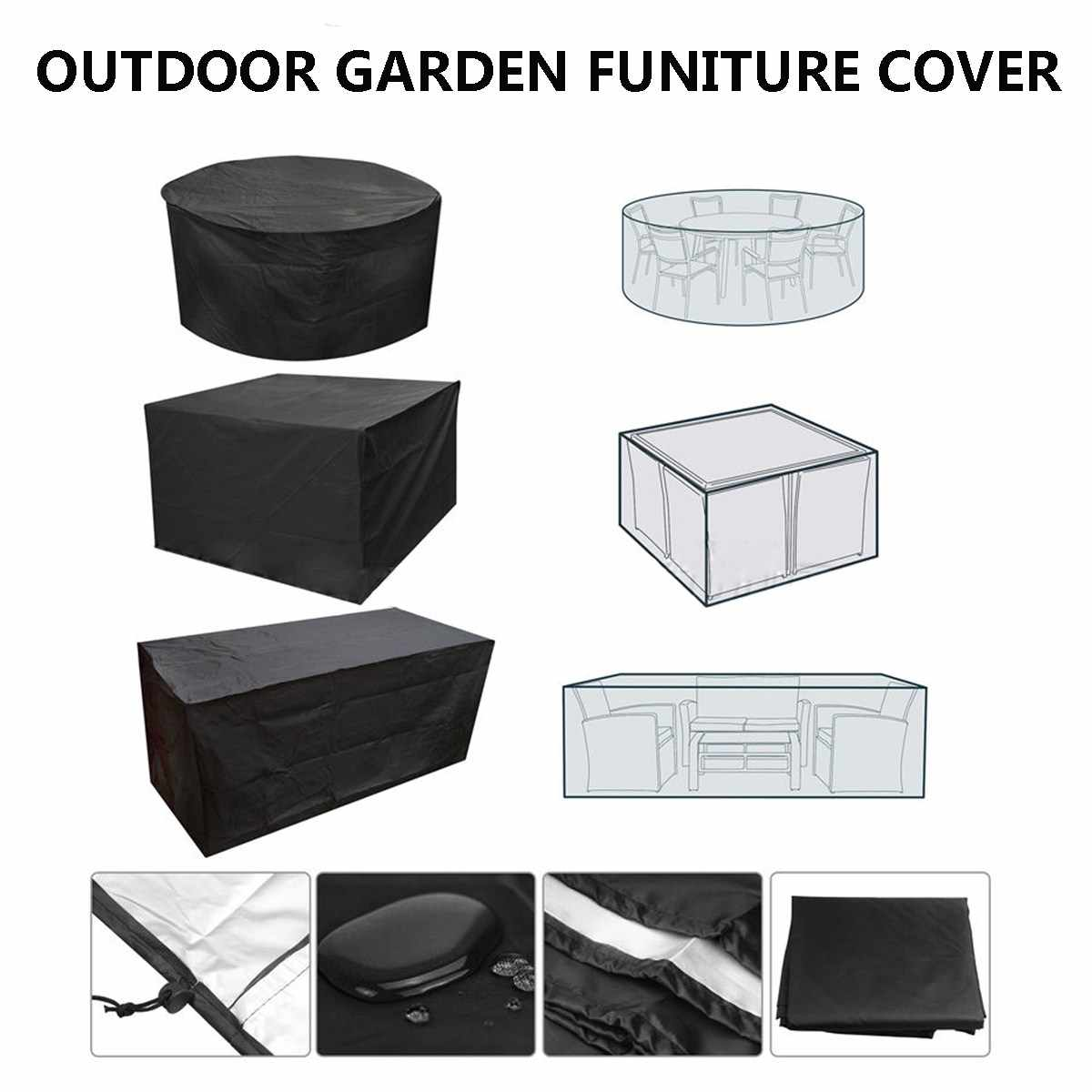 Garden Patio Waterproof Furniture Cover