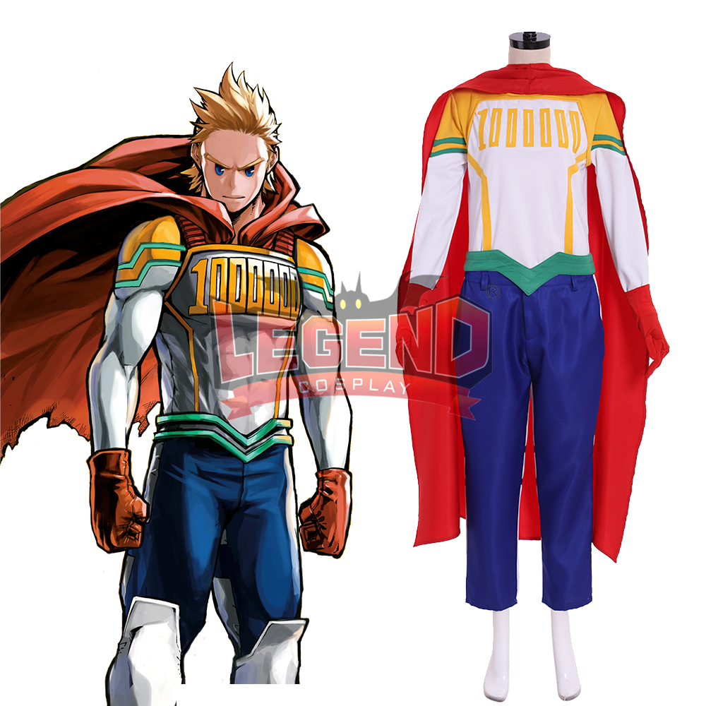 My Hero Academia Boku no Hero <font><b>Mirio</b></font> Togata <font><b>Cosplay</b></font> Costume adult costume full set custom made image