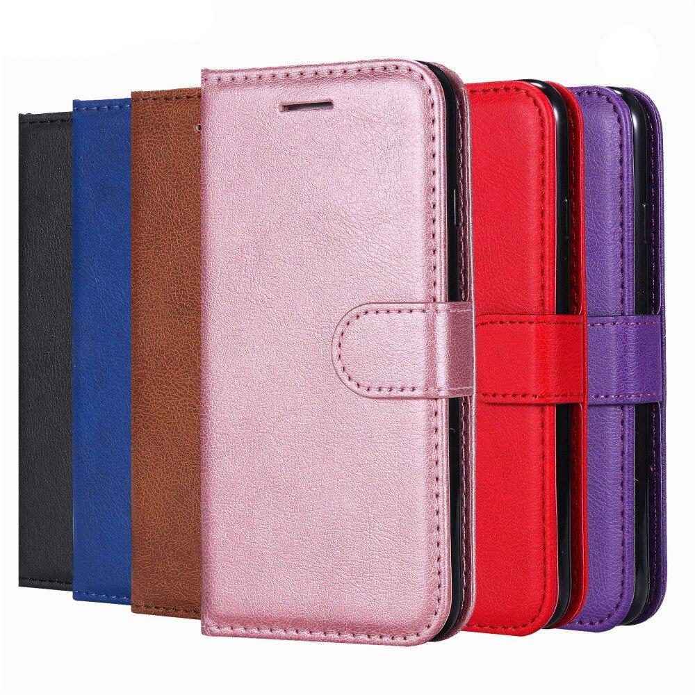 Y5 Y6 Pro Y7 Prime 2018 Y9 Lederen Telefoon Case Wallet Cover Voor Huawei Honor 7a 7c 7x 6a 6c 6x 8c 8x Honor 10 Lite Flip Stand Bag Verkoopprijs