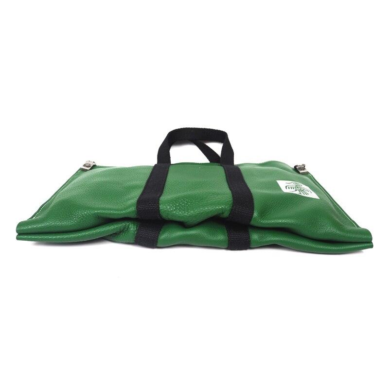 869df01ddb Di Borsa Disegno Bag Mucca Maniglia Pelle Originale Verde Donne Busta  Sunbird In Sacchetto Top Casuale ...