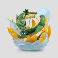 18cm Anime Action Figure Dragon Ball Z Green Earth Dragon Shenron 1/7 Statue big heavy dragon PVC Model Collection Toy