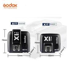 Godox X1-C/N/S E-TTL Gatilho de Rádio 2.4G Sem Fio Transmissor/Receptor para Canon Nikon Sony Cameras