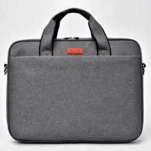 Airbag waterproof shoulder notebook bag 15.6 15 14 13.3 inch Brand casual fashion business men women Hand Messenger laptop bag