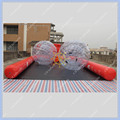 Free Shipping Giant Inflatable Bowling Set Game+ 2 Zorb Ball+2 air pump+6 bowling ball High Quality Human Body Zorb Blowing Game