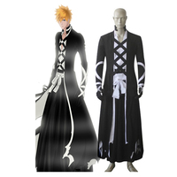 Bleach Kurosaki ichigo Cosplay Costume Bleach cosplay outfits Halloween cosplay costumes for adult