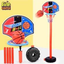 SIMCASTLE Adjustable Basketball Stand Basket Holder Hoop Goal Game Mini Indoor Child Kids Boys Toys Sport