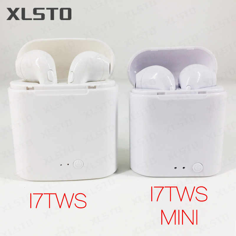c469ccb17af New XLSTO i7TWS Upgrade Bluetooth Earphone i7s Mini Wireless Bluetooth4.2  Stereo Music Earphone Earbuds