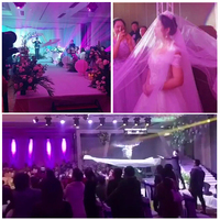 Sunvary 2018 New Flying Veil Wedding Props Fancy Wedding Dress Bridal Veils Headdress Remote Control ABC Jimmy Kimmel live Show