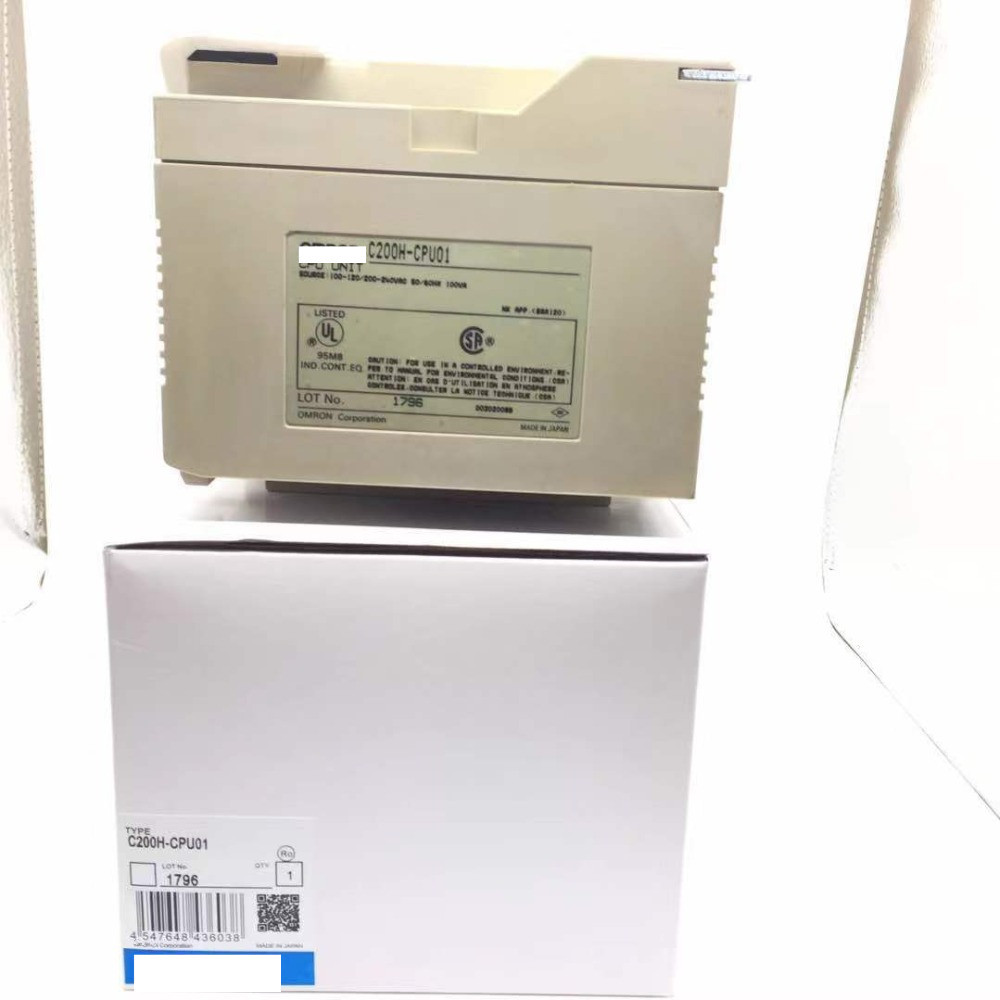 PLC c200h cpu01 PLC new original 100 new with one year Warranty