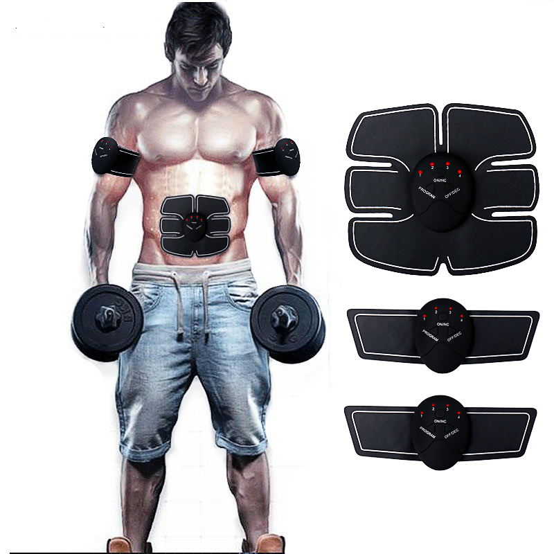 wireless smart EMS electric pluse treatment fitness messager abdominal muscle trainer exerciser stimulator slimming machine multi function smart ems abdominal muscle stimulator exerciser trainer device muscles training weight loss slimming massager 30