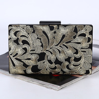 Evening Bag Womens Noble Party Wallet Golden Wedding Purse Bridal Prom Handbag Party Bag LS8333