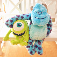Cute Monsters University Figure Mike James Plush Toy Stuffed Doll Soft Gift For Kids Children Measure