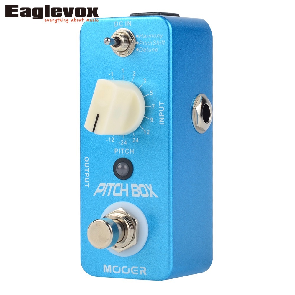 mooer pitch box guitar effect pedal pitch shift detune harmony modes effects original signal. Black Bedroom Furniture Sets. Home Design Ideas