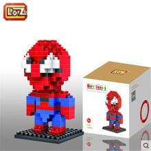 LOZ Spider Ma font b Blocks b font pokemon ego nero legoe star wars duplo lepin
