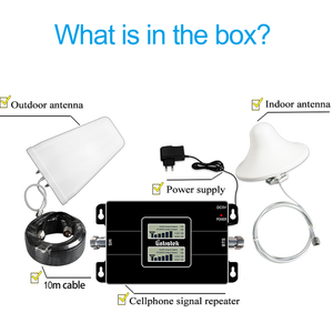 Image 5 - Free Shipping Cellular Signal Booster 3G Signal 900 2100 GSM UMTS Amplifier Dual Band Repeater GSM900 WCDMA 3G  Booster 2G#14
