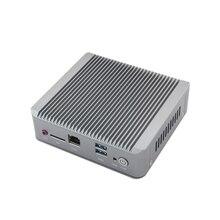 Мини Настольный Компьютер Celeron J1900 Четырехъядерный Micro PC 2 LAN HDMI VGA SSD Wifi 2/4/8 ГБ RAM Поддержка пользовательских