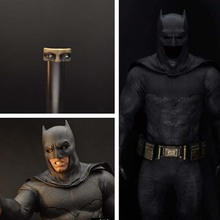 1/6 Scale BVS Batman หมวกนิรภัยเสื้อคลุมตาสำหรับ 12 นิ้ว action figure ของเล่น DIY งานอดิเรก