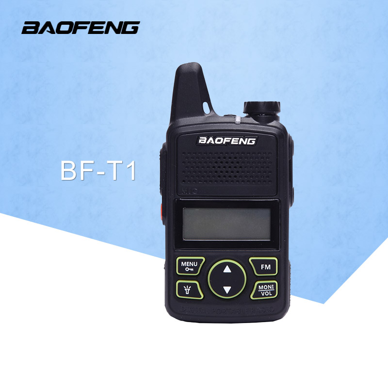 BaoFeng BF T1 20 canali Mini walkie talkie ultra sottile micro guida 400-470 MHz BaoFeng Hotel civile walkie talkie