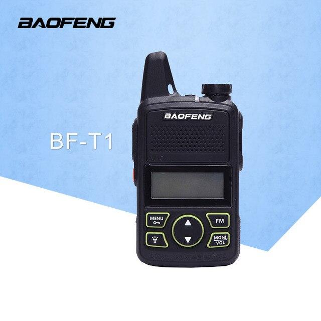 De BaoFeng BF T1 20 canales Mini walkie talkie ultra delgado micro conduciendo 400-470 MHz BaoFeng Hotel civil walkie talkie
