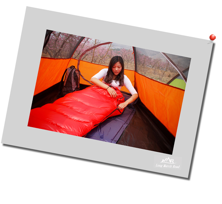 High Quality down sleeping bag