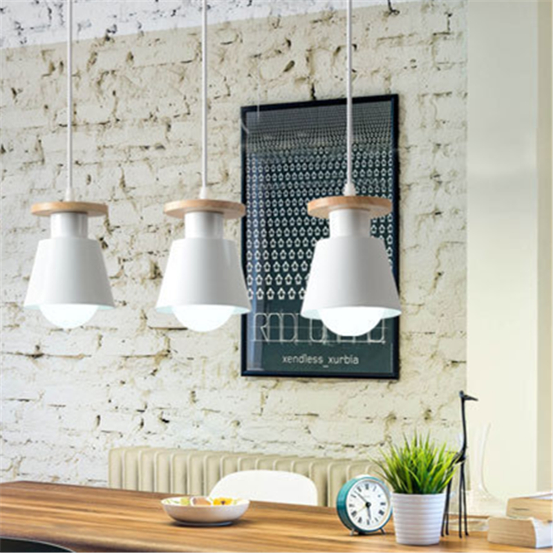Nordic LED Pedant Light Modern Hanging Ceiling Lamp Chandelier for Home Indoor Kitchen Dinning Living Room Restaurant Cafe Store
